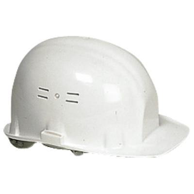 Casque de chantier blanc (EN397) EARLINE-65100
