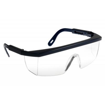 Lunettes de sécurité, Monture ECOLUX bleue - Oculaire incolore-60360 LUX OPTICAL