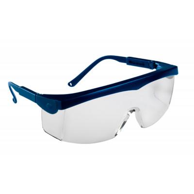 Lunettes de sécurité, Monture PIVOLUX bleue - Oculaire incolore- 60325 LUX OPTICAL