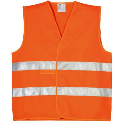 Gilet hi-viz orange double bande, cl. 2.2, 70232 Coverguard