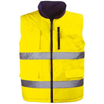 HI WAY gilet réversible jaune/gris,, 7HWGY Coverguard