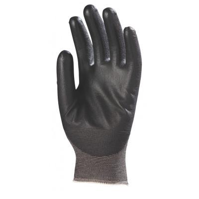 Gants EUROLIGHT tricotés nylon - paume enduite de polyuréthane - Eurotechnique   6430