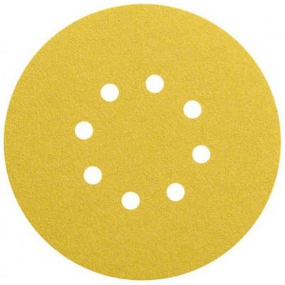 Disques abrasifs C470 pour ponceuses excentriques - Ø 150 mm - 8 trous - grain en 40 - lot de 50 - Bosch Pro   2608608426