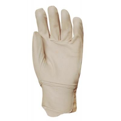 Gants de maîtrise tout fleur chèvre, poignet élastique, protège artère - Eurotechnique