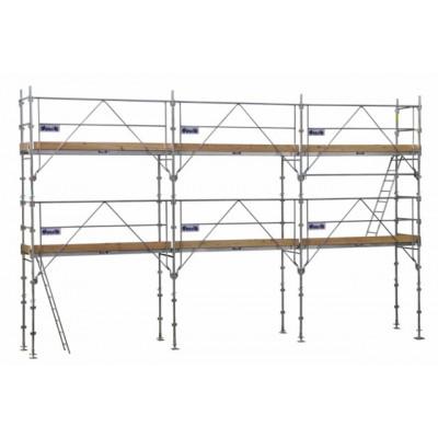 Echafaudage de façade F3000 - travée de 3 m - diamètre tube de 50 mm - DUARIB | FD07MDS2
