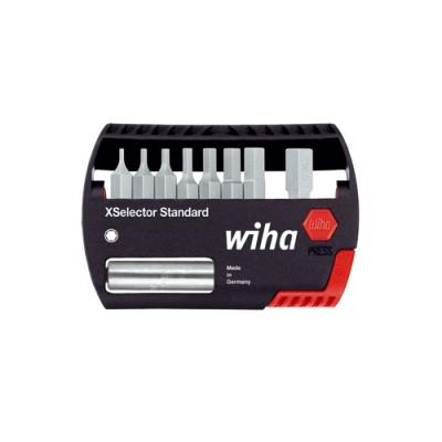 Coffret d'embouts XSelector Standard, six pans, 9 pièces WIHA 7944-902