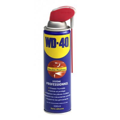 Bombe aérosol dégrippant anti-humidité WD-40 500ml 10255