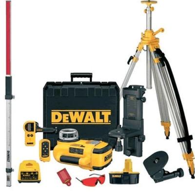 Kit Laser rotatif avec Faisceau Horizontal+Vertical DEWALT DW079PKH