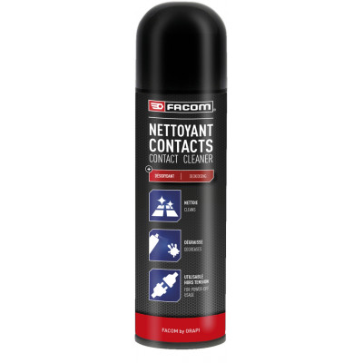 Nettoyant contacts Aérosol 650 / 400 ml 121027 | FACOM BY ORAPI