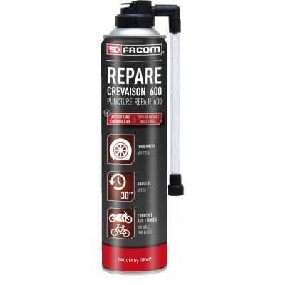Répare crevaison (anti-crevaison) 600 Aérosol 800 / 600 ml 141087 | FACOM BY ORAPI
