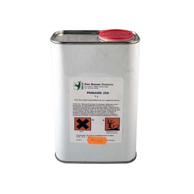Primaire d'adhérence à base de polyuréthanne et de solvant Den Braven   primaire 250