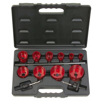 Coffret de 10 scies cloche KS, 19-22-29-35-38-44-51-57-65-67 mm KSTOOLS