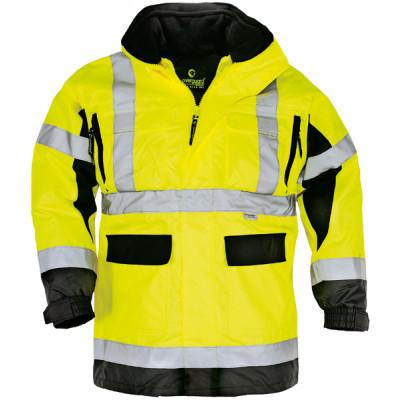 AIR RIPSTOP 4 Parka hi-viz jaune et noire Coverguard
