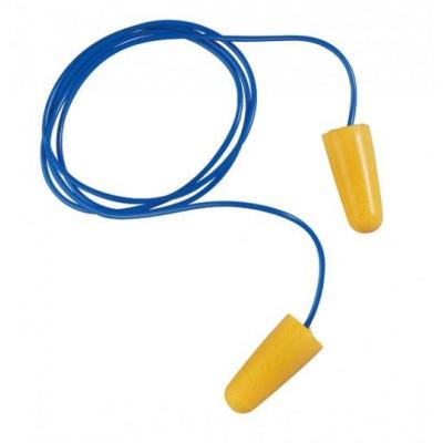 Bouchons en mousse  EARLINE avec corde 30206 ( boîte de 150)
