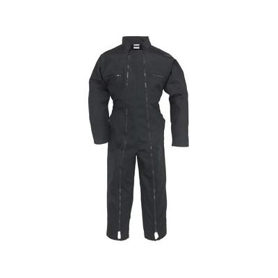 Combinaison noir 2 zips Factory - polycoton - 245 g/m2 - COVERGUARD | 74581