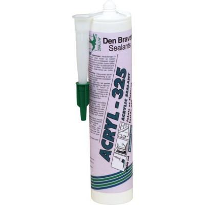 Mastic acrylique ACRYL 325 pour joints et fissures intérieurs - DENBRAVEN | ACRYL 325