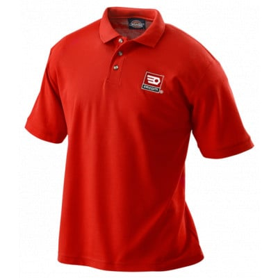 VP.POLORED-M Facom VP.POLOGRED - Polos rouge Dickies