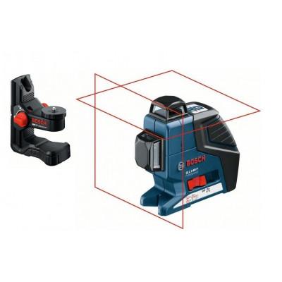 Laser croix 20 m - GLL 2-80 P + support universel BM 1 -  Bosch Professionnel | 0601063202