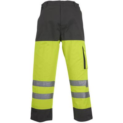 Pantalon WASCH PATROL - jaune et gris - bandes rétro réfléchissantes - Coverguard   7WPYG