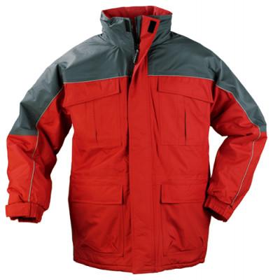 Parka RIPSTOP - rouge et gris - Coverguard | 5RIPR