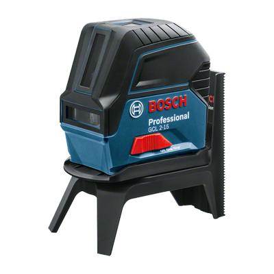 0601066E00 Laser points et lignes Bosch GCL 2-15 Professional outils Bosch Bleu