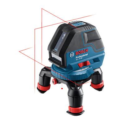 0601063800 Laser lignes Bosch GLL 3-50 Professional outils Bosch Bleu