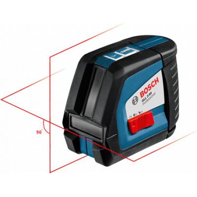 0601063104 Laser lignes Bosch GLL 2-50 Professional outils Bosch Bleu