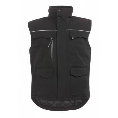 Gilet noir TAO - déperlant et respirant - Coverguard | 5TAGB