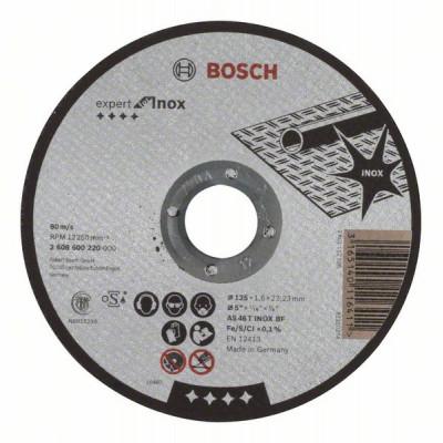 2608600220 Disque à tronçonner à moyeu plat Expert for Inox Accessoire Bosch pro outils