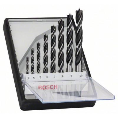 2607010533 Mèches hélicoïdales à bois Robust Line, set de 8 pièces Accessoire Bosch pro outils