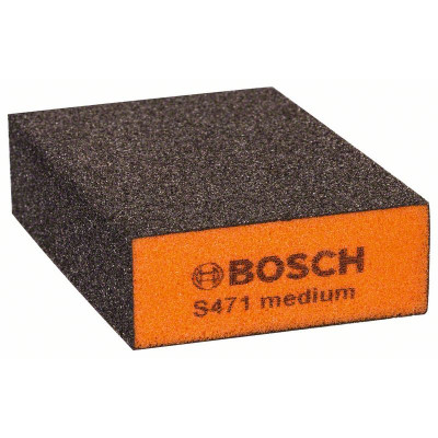 2608608225 Bloc standard abrasif, Best for Flat and Edge Accessoire Bosch pro outils