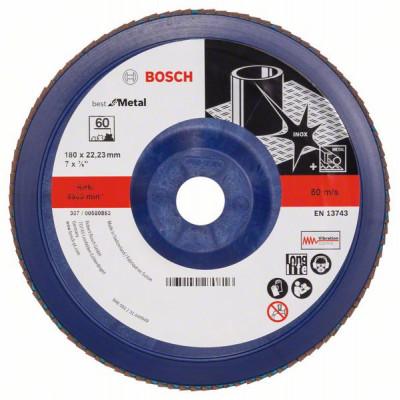 2608607343 Plateau à lamelles X571, Best for Metal Accessoire Bosch pro outils