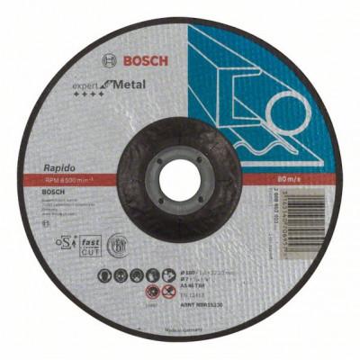 2608603403 Disque à tronçonner à moyeu déporté Expert for Metal - Rapido Accessoire Bosch pro outils