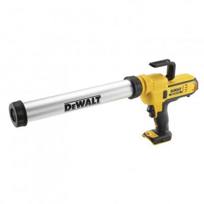 Pistolet à mastic 18V cartouche 310 ml et sachet 600 ml Sans batterie ni chargeur Dewalt | DCE580N