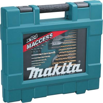 Makita D-31778 Coffret ensemble accessoires 104 pièces MACCESS