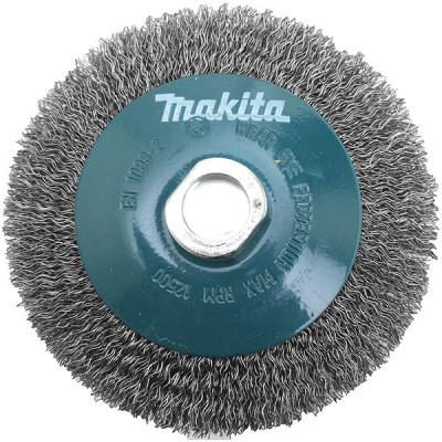 Makita D-39849 Brosse conique à fils acier ondulés pour meuleuses
