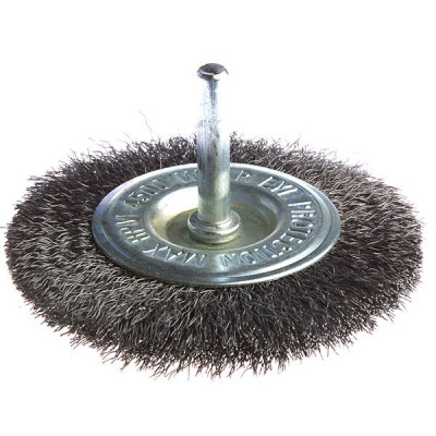 Makita D-39964 Brosse circulaire à fils acier ondulés pour perceuses