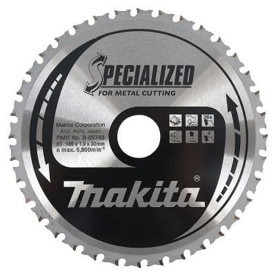 Makita B-09743 Lames carbures ''Specialized'' Métal, pour scies circulaires à métaux