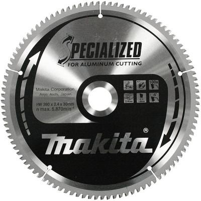 Makita B-09656 Lames carbure ''Specialized'' pour aluminium, pour scies radiale et à onglets