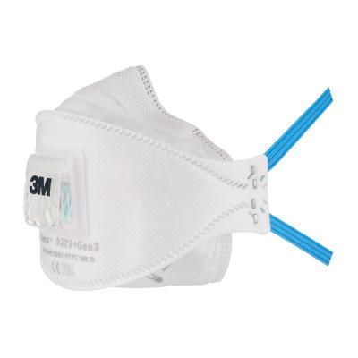 Boîte de 5 masques pliables 3M™ Aura™ Gen3 FFP2 NR D avec soupape Cool Flow™