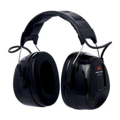 Casque antibruit 3M™ PELTOR™ ProTac™ III, noir, 32 dB, serre-tête, MT13H221A