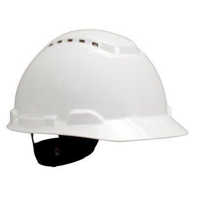 Casque de sécurité 3M™ H700 vert, ventilé, avec harnais standard et basane synthétique