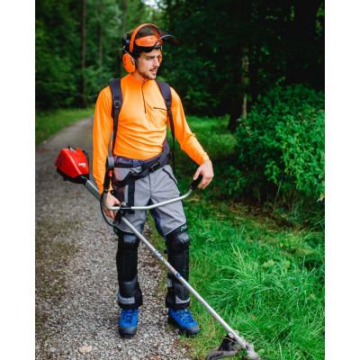 Kit complet de protection forestière : combinaison avec coiffe 3M™ G500 et visière et coquilles auditives 3M™