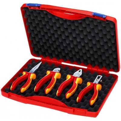 Coffret compact de 4 outils VDE Knipex   00 20 15