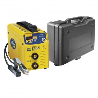 Poste à souder Inverter à l'électrode enrobée GYSMI E163 (MMA) 160A GYS | 036635