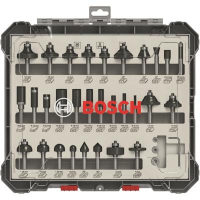 Coffret de 30 Fraises mixtes 8MM Bosch Professional | 2607017475