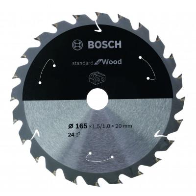 Lame de scie circulaire Sans-fil STD Bois 140x12.7x24T Bosch Professional | 2608837670