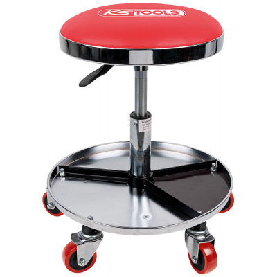 Tabouret à roulettes, charge max 135Kg KS Tools | 500.8004