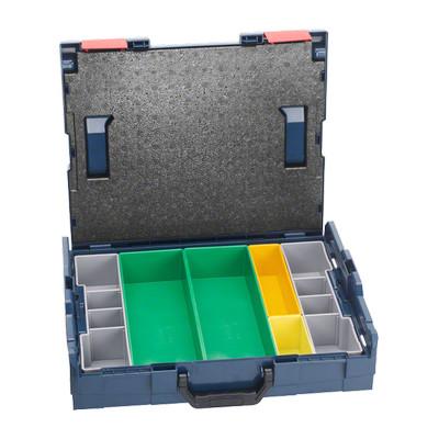 1600A001S4 Coffret de transport Bosch L-BOXX 102 + set de casiers inset box 6 pièces Professional outils Bosch Bleu