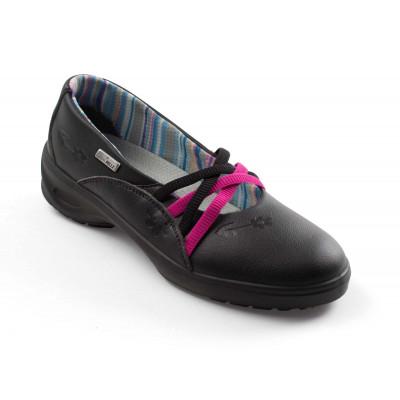 Chaussures de sécurité femmes Daphne Noir Gaston Mille   DAAN9